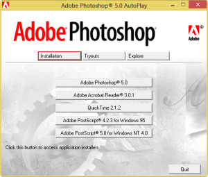 Adobe Photoshop Autoplay options do nothing